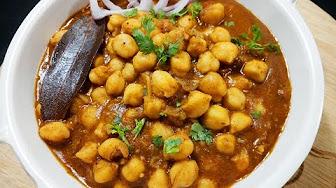 chole masala curry
