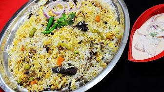 Vegetable Dum Biriyani